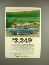 1966 Ford Ranchero Truck Ad - $2,249 - $14.99