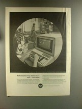 1967 RCA Computer Ad - Help Children Learn More, Faster - $14.99