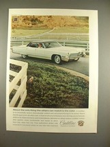 1968 Cadillac Car Ad - Others Can Match The Color! - $14.99