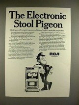 1969 RCA Spectra 70 Computer Ad - Stool Pigeon - $14.99