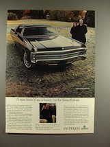 1969 Chrysler LeBaron 4-Door Hardtop Car Ad! - $14.99