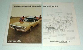 1970 Chrysler Newport Custom Car Ad - Beautiful - $14.99