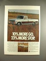 1969 International Harvester Pickup Truck Ad! - $14.99