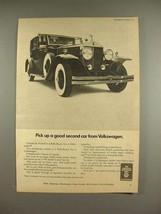 1969 Volkswagen VW Car Ad - w/ Rolls Royce - $14.99