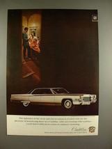 1969 Cadillac Hardtop Sedan deVille Car Ad - Splendor - $14.99