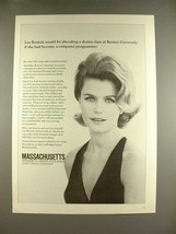 1970 Massachusetts State Ad w/ Lee Remick! - $14.99