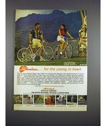 1971 Schwinn Super Sport Bike Ad - Young in Heart - $14.99