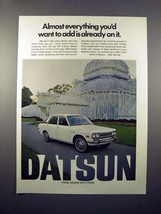 1971 Datsun 510 4-door Sedan - Everything You'd Want - $14.99