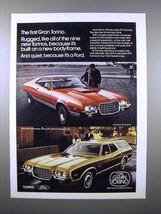 1972 Ford Gran Torino Sport, Gran Torino Squire Car Ad! - $14.99