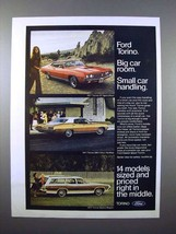 1971 Ford Torino GT SportsRoof, 500 Hardtop Car Ad! - $14.99