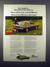 1971 Ford Pinto Car Ad - Your Daughter! - $14.99