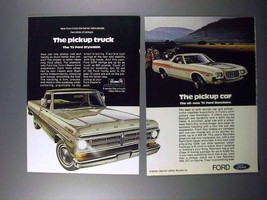 1972 Ford Styleside Pickup Truck, Ranchero Car Ad! - $14.99