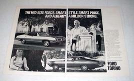 1971 Ford Torino Brougham, Torino 500 SportsRoof Car Ad - $14.99