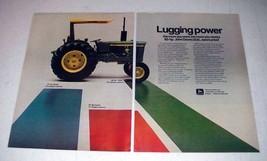 1972 John Deere 2030 Tractor Ad - Lugging Power! - $14.99