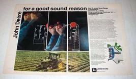 1972 John Deere 4030 Tractor Ad - Good Sound Reason - $14.99