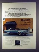 1973 Oldsmobile Ninety-Eight Regency Car Ad! - $14.99