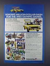 1978 Toyota Corolla Car Ad - Million-Dollar-Dash - $14.99