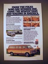 1979 Dodge Sportsman Wagon Van Ad - From the Folks - $14.99