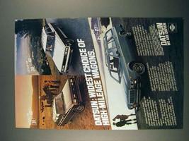 1980 Datsun 210, 510, 610 Wagon Ad - Widest Choice - $14.99