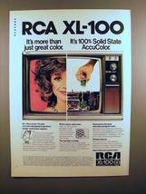 1972 RCA XL-100 Television Ad - Solid State AccuColor - $14.99