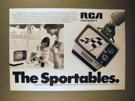 1975 RCA AU097 Portable Television Ad - Sportables! - $14.99