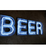 LED neon letters and numbers  - $190.00