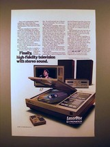 1981 Pioneer LaserDisc Player Ad - Finally! - $14.99