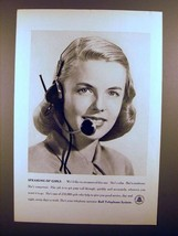 1948 Bell Telephone Ad - Speaking of Girls! - $14.99