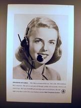 1948 Bell Telephone Ad - Speaking of Girls! - $14.99