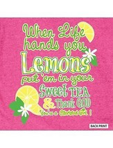 New CHERISHED GIRL T SHIRT WHEN LIFE HANDS YOU LEMONS SHIRT   - $16.99+