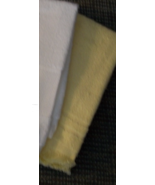 CLEARANCE Pale Yellow fingertip cross stitch to... - $1.00