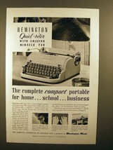 1952 Remington Quiet-riter Typewriter Ad - Compact! - $14.99
