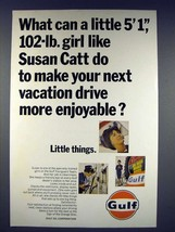 1966 Gulf Oil Ad - Make Next Drive More Enjoyable - $14.99