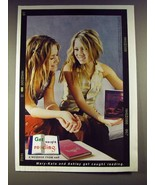 2004 Get Caught Reading Ad w/ Mary-Kate & Ashley Olsen - $14.99