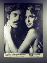 1973 Coty Emeraude Perfume Ad - More of a Woman - $14.99