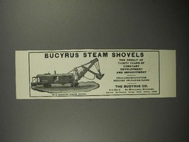 1911 Bucyrus 80-C Steam Shovel Ad! - $14.99