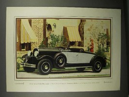 1929 Chrysler Imperial Roadster Car Ad - Actual Photo - $14.99