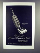 1947 Hoover De Luxe Vacuum Cleaner, Model 61 Ad - $14.99