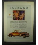 1929 Packard Car Ad - Blacksmith Craftsman - $14.99