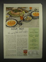 1935 Campbell's Vegetable Soup Ad - Hot - $14.99