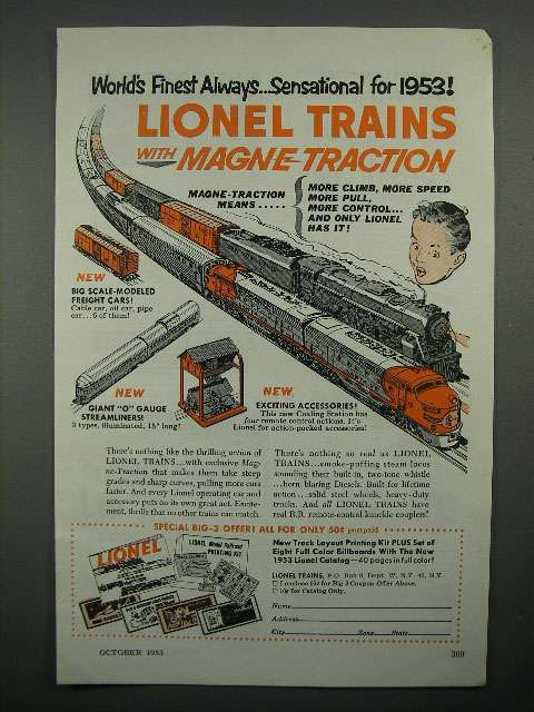 Aq619 1953 Lionel Trains