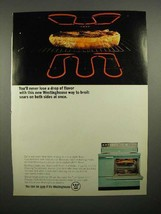 1965 Westinghouse Oven Ad - Never Lose Flavor - $14.99