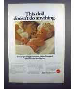 1970 Mattel Baby Tender Love Toy Doll Ad! - $14.99