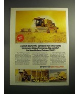 1974 Sperry New Holland Golden 1500 SP Combine Ad - $14.99