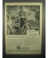 1952 AMF Roadmaster Bicycle Ad - Electronics - $14.99