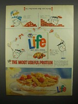 1963 Life Cereal Ad - The Most Useful Protein - $14.99