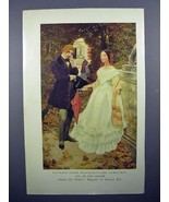 1908 Illustration by Howard Pyle - Thackeray, Newcomes - $14.99