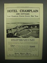 1908 Hotel Champlain Ad - Most Magnificent - $14.99