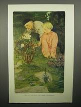 1908 Illustration by Elizabeth Shippen Green - Rose - $14.99