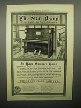 1908 Starr Player Piano Ad - In Your Summer Home - $14.99
